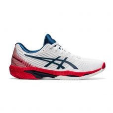 ASICS SOLUTION SPEED FF 2 CLAY BLANCO ROJO 1041A187 101