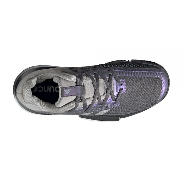 ADIDAS SOLEMATCH BOUNCE GRIS PLATA MUJER FX1742