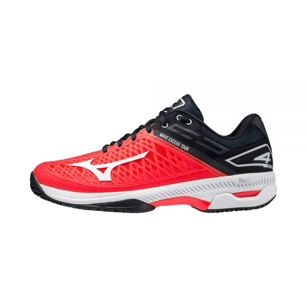 MIZUNO WAVE EXCEED TOUR 4 CC ROJO BLANCO 61GC207462