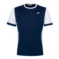 CAMISETA HEAD DAVIES NAVY BLANCO