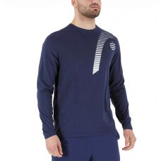 SUDADERA HEAD CLUB 21 CLIFF LS AZUL MARINO