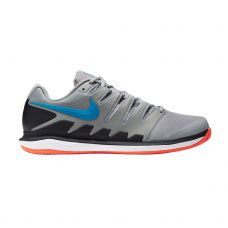 NIKE COURT AIR ZOOM VAPOR X GRIS AZUL AA8021-011