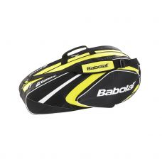 RAQUETERO BABOLAT RACKET HOLDER 3 RAQUETAS CLUB AMARILLO