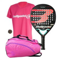 PACK BULLPADEL FLOW 2020 Y PALETERO SOFTEE PRO