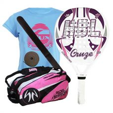 PACK HBL CRUZE Y PALETERO PADEL SESSION PRO SERIES