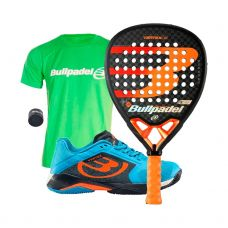 PACK BULLPADEL VERTEX 02 Y ZAPATILLAS VERTEX 20V