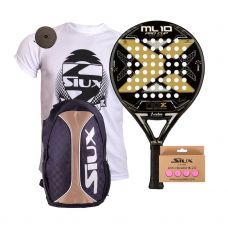 PACK NOX ML10 PRO CUP BLACK EDITION Y MOCHILA SIUX TRAIL 2.0