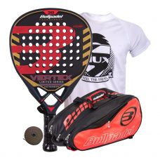 PACK BULLPADEL VERTEX LIMITED SERIES Y PALETERO BULLPADEL