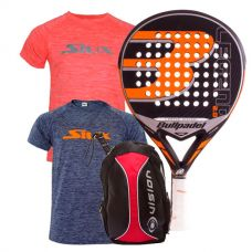 PACK BULLPADEL LEGEND 2.0 LIMITED EDITION Y MOCHILA VISION