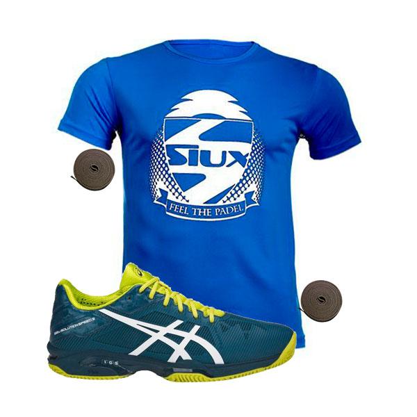 asics gel solution speed 3 clay azul e601n 4501
