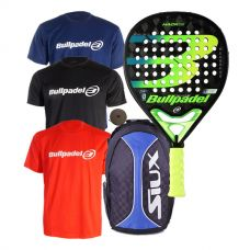 PACK BULLPADEL HACK 02 Y MOCHILA SIUX TRAIL 2.0