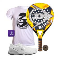 PACK DUNLOP LUXURY Y ZAPATILLAS WILSON