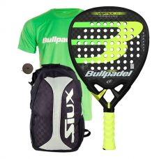 PACK BULLPADEL VERTEX 2 19 CON MOCHILA TRAIL 2.0