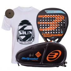 PACK BULLPADEL VERTEX 2 2018 Y PALETERO MAXI OVER