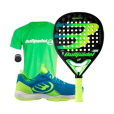 PACK BULLPADEL HACK 02 Y ZAPATILLAS HACK KNIT 20V