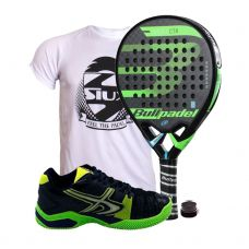 PACK BULLPADEL VERTEX CONTROL 2018 Y SOFTEE WINNER 1.0