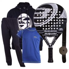 PACK BULLPADEL SILVER EDITION Y EQUIPACIÓN