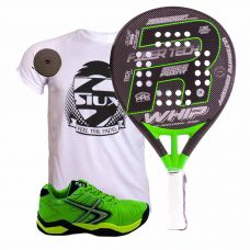 PACK ROYAL PADEL WHIP PROFESSIONAL LTD Y SOFTEE WINNER 1.0