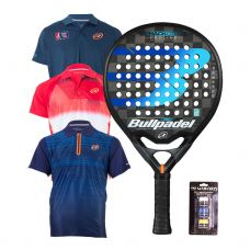 PACK BULLPADEL HACK CONTROL Y POLOS BULLPADEL