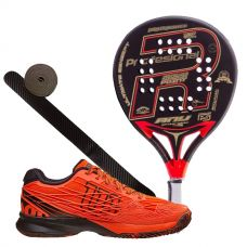 PACK ROYAL PADEL ANY ED. ESPECIAL Y ZAPATILLAS WILSON KAOS WRS322370