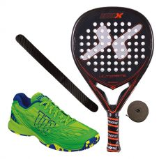 PACK NOX ULTIMATE LEGEND Y WILSON KAOS CLAY COURT