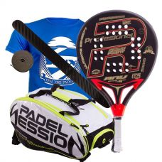 PACK ROYAL PADEL ANY ED. ESPECIAL Y PALETERO PADEL SESSION MATRIX 3