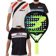 PACK BULLPADEL HACK 20 Y CAMISETAS SIUX