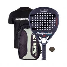PACK BULLPADEL VERTEX BLACK SERIES II LTD Y MOCHILA SIUX TRAIL 2.0