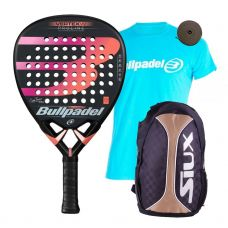 PACK BULLPADEL VERTEX 2 WOMAN 2019 Y MOCHILA SIUX TRAIL 2.0
