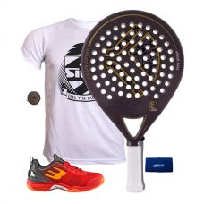 PACK KAITT CALIBRE 2016 Y ZAPATILLAS BULLPADEL BEWER