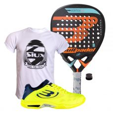 PACK BULLPADEL VERTEX 2 2018 Y ZAPATILLAS VERTEX