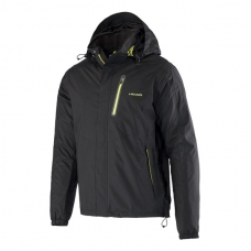 CHAQUETA HEAD ALL SEASON COACH RAIN JACKET NEGRA