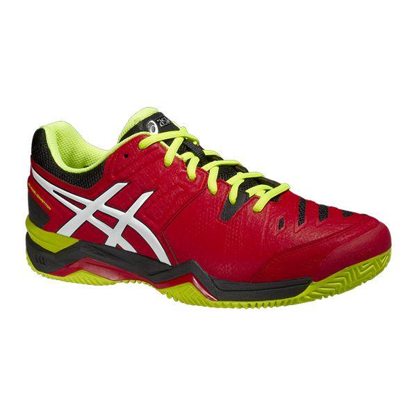 zapatillas asics rojas