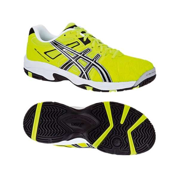 zapatillas hombre asics amarillas
