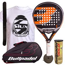 PACK BULLPADEL LEGEND 2.0 LIMITED EDITION Y PALETERO BULLPADEL AVANTLINE NEGRO