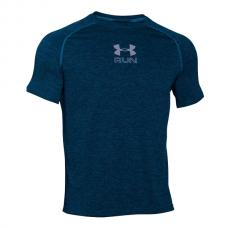 CAMISETA AZUL GRIS RUN TWIST