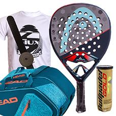 PACK HEAD GRAPHENE TOUCH ALPHA MOTION Y PALETERO CORE PADEL COMBI