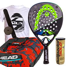 PACK HEAD GRAPHENE TOUCH ALPHA PRO 2017 Y PALETERO MONSTERCOMBI