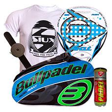 PACK DUNLOP SHOUT Y PALETERO BULLPADEL