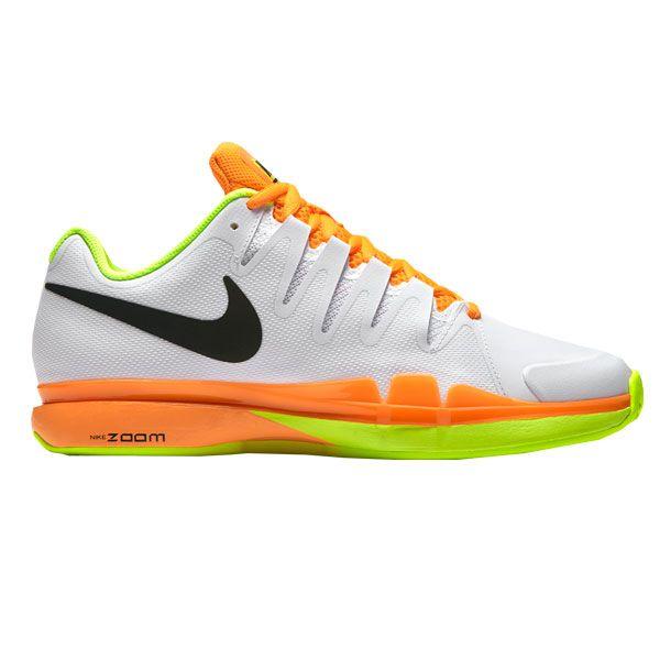 super popular bb39f 918c4 Nike Zoom Vapor 9.5 Tour Clay Blanco Naranja 631457 107 ...