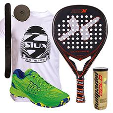 PACK NOX ULTIMATE Y ZAPATILLAS WILSON KAOS CLAY