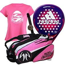Pack Adidas Supernova Woman y Paletero Padel Session