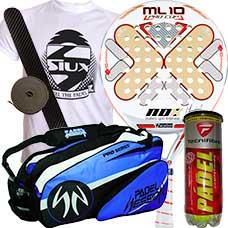 pack nox ml10 pro cup 2016 y paletero padel session