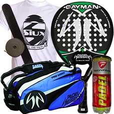 Pack Padel Session Cayman y paletero Padel Session