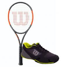 PACK WILSON BURN 100 LS Y ZAPATILLAS WILSON RUSH PRO 2.5