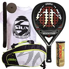 PACK PADEL SESSION INVICTUS Y PALETERO MATRIX 3