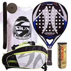 PACK PADEL SESSION INVICTUS 2.0 Y PALETERO MATRIX 3