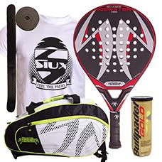 PACK PADEL SESSION MONSTER Y PALETERO MATRIX 3