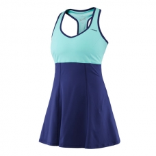 VESTIDO HEAD PERFORMANCE DRESS NAVY TURQUESA