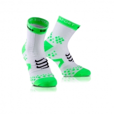 CALCETINES COMPRESSPORT RACKET STRAPPING DOUBLE LAYER WHITE